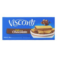 Biscoito Visconti Wafer Chocolate 120g - Cod. 7891962035529