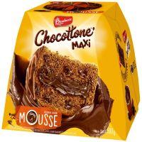 Chocottone Bauducco Mousse com Cobertura Chocolate 500g - Cod. 7891962016825