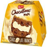 Chocottone Bauducco Maxi com Recheio e Cobertura Chocolate Branco 500g - Cod. 7891962061528