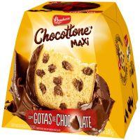 Chocottone Bauducco Maxi com Gotas e Cobertura de Chocolate 500g - Cod. 7891962027357