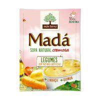 Sopa instantânea Natural Madá Legumes 17g | Display - Cod. 7896496992782