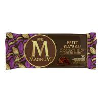 Sorvete Kibon Magnum Petit Gateau 100ML | Caixa com 16 - Cod. 7891150047341C16