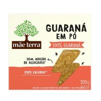 Guaraná em Pó Mãe Terra 100g - Cod. 7896496940516