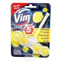 Bloco Sanitário VIM Poder X5 Citrus 55g - Cod. 7791290013803