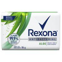Sabonete em Barra Rexona Antibacteriano Aloe Vera 84g - Cod. 7891150061859