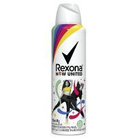Desodorante Aerosol Rexona Now United 72 Horas 150mL - Cod. 7891150063204
