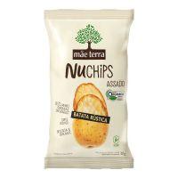 Chips Orgânico Mãe Terra Batata Rústica NuChips 32g - Cod. 7896496918003
