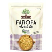 Farofa de Mandioca Orgânica Cebola & Alho Mãe Terra Pacote 200g - Cod. 7896496913510
