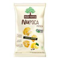 Pipoca Orgânica Mãe Terra Lemon Pepper NuPoca 23g - Cod. 7896496917648