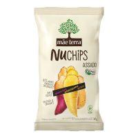Chips Orgânico Mãe Terra Batata Doce, Mandioquinha e Batata NuChips 32g - Cod. 7896496918034