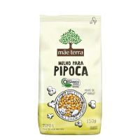 Milho Para Pipoca Orgânico Mãe Terra 350g - Cod. 7896496910526