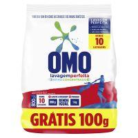 Oferta Detergente Em Pó Omo Lavagem Perfeita Pague 700g Leve 800g - Cod. 7891150064546