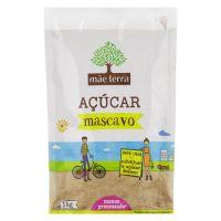 Açúcar Mascavo Mãe Terra Pacote 1kg - Cod. 7896496941810