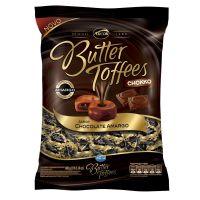 Bolsa de Bala Butter Toffes Choco Amargo 600g (92 un/cada) - Cod. 7891118014125