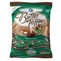 Bolsa de Bala Butter Toffes Chokko Menta 600g (92 un/cada) - Cod. 7891118014330