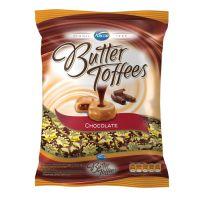 Bolsa de Bala Butter Toffes Chocolate 600g (92 un/cada) - Cod. 7891118014323