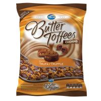 Bolsa de Bala Butter Toffes Chokko Trufa 600g (92 un/cada) - Cod. 7891118014347