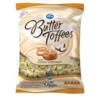 Bolsa de Bala Butter Toffes Coco 600g (92 un/cada) - Cod. 7891118014453