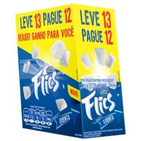 Display de Chicle Flics Menta 226g (13 un/cada) | Caixa com 1 - Cod. 7891118014866