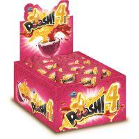 Display de Chicle Poosh 4 Sabores Rosa 200g (40 un/cada) - Cod. 7891118014705