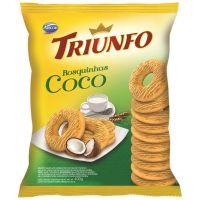 Biscoito Triunfo Rosquinha de Coco 400g - Cod. 7896058251357