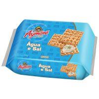Biscoito Aymoré Água e Sal 375g Multipack | Caixa com 1 - Cod. 7896058251173
