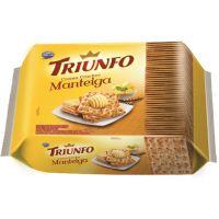 Biscoito Triunfo Cream Cracker Manteiga 375g Multipack - Cod. 7896058252279C4