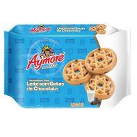 Biscoito Aymoré Amanteigado Leite Goatas Choco 330g Multipack | Caixa com 1 - Cod. 7896058254433