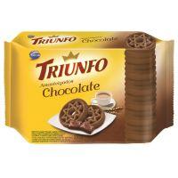 Biscoito Triunfo Amanteigado Chocolate 330g Multipack - Cod. 7896058254464