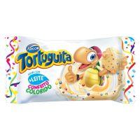 Display de Chocolate Tortuguita Branca com Confeitos 18g (24 UN/CADA) - Cod. 7898142861411
