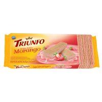 Biscoito Triunfo Wafer Morango 115g - Cod. 7896058256437