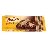 Biscoito Triunfo Wafer Chocolate 115g - Cod. 7896058256420