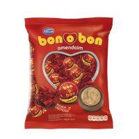 Bolsa de Bombom de Chocolate Bonobon Amendoim 15g (50 un/cada) - Cod. 7898142859197