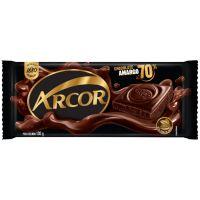 Display de Tablete de Chocolate Arcor Amargo 70% Cacau 100g (14 un/cada) - Cod. 7898142861817