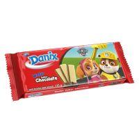 Biscoito Danix Wafer Chocolate Patrulha Canina 115g - Cod. 7896058257021C5