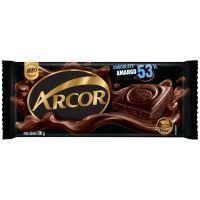 Display de Tablete de Chocolate Arcor Amargo 53% Cacau 100g (14 un/cada) - Cod. 7898142861794