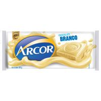 Display de Tablete de Chocolate Arcor Branco 100g (14 un/cada) | Caixa com 1 - Cod. 7898142861695