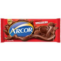 Display de Tablete de Chocolate Arcor Brigadeiro 100g (14 un/cada) - Cod. 7898142861855
