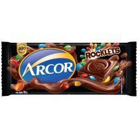 Display de Tablete de Chocolate Arcor Rocklets 100g (14 un/cada) - Cod. 7898142863101C14