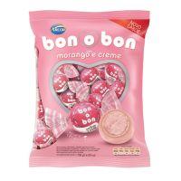 Bolsa de Bombom de Chocolate Bonobon Morango 15g (50 un/cada) - Cod. 7898142863118