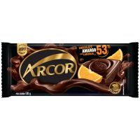 Display de Tablete de Chocolate Arcor Amargo 53 com Laranja 100g (14 un/cada) - Cod. 7898142863187C14