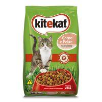 Ração KiteKat Carne e Peixe Para Gatos Adultos 20 kg - Cod. 7896029075258
