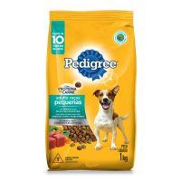 Ração Pedigree Para Cães Adultos Raças Pequenas 1 kg - Cod. 7896029069196