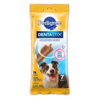 Petisco Pedigree Dentastix Cuidado Oral Para Cães Adultos Raças Médias 7 Unidades - Cod. 7896029052358
