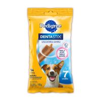 Petisco Pedigree Dentastix Cuidado Oral Para Cães Adultos Raças Pequenas 7 Unidades - Cod. 7896029052334