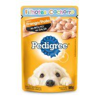 Ração Úmida Pedigree Sachê Frango ao Molho para Cães Filhotes 100 g - Cod. 7896029022252