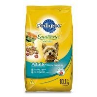 Ração Pedigree Equilíbrio Natural para Cães Adultos de Raças Pequenas 10,1 kg - Cod. 7896029095652