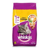 Ração Whiskas Frango Para Gatos Adultos 10,1 kg - Cod. 7896029007402