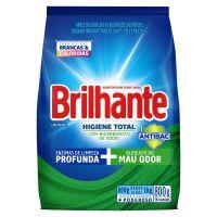 Lava-Roupas em Pó Roupas Brancas e Coloridas Brilhante Higiene Total Pacote 800g - Cod. 7891150066625