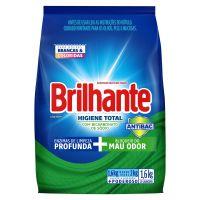 Lava-Roupas em Pó Roupas Brancas e Coloridas Brilhante Higiene Total Pacote 1,6kg - Cod. 7891150066632